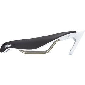 Fabric Tri Race Flat Selle, black/white